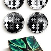 Rosanna Greek Key Salad Plates (Set of 4) | Nordstrom