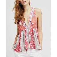 free people - dream darlin' tank - orange