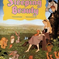 Walt Disney's Sleeping beauty MOVIE POSTER 1959 24X36 hot vintage CARTOON (reproduction, not an original)