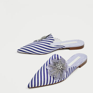 STRIPED MULES DETAILS