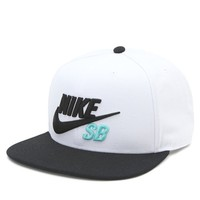 Nike SB Large 3D Icon Snapback Hat - Mens Backpack - Black/White/Mint - One