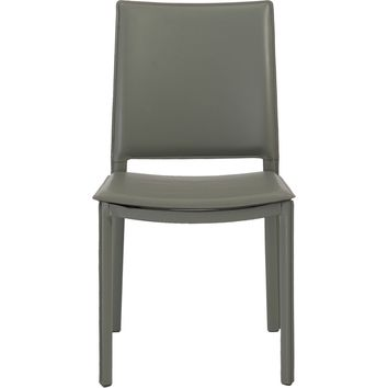 Kate Dining Chair Gray Leatherette (Set of 4)