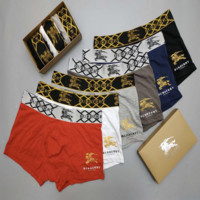 BURBERRY Male Brief Underwear Men's Trendy Pants