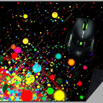 Supersonic Paint Mousepad