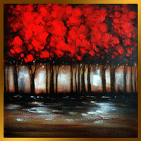 MLS0707001  Oil Painting On Canvas, 80 x 80 cm/32 x 32 in