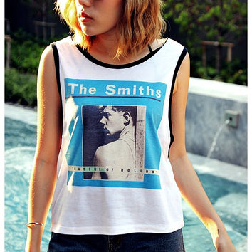 The Smiths Hatful Of Hollow, Shirt Tank Top Sexy Summer Sideboob Women Tops Size S, M, L
