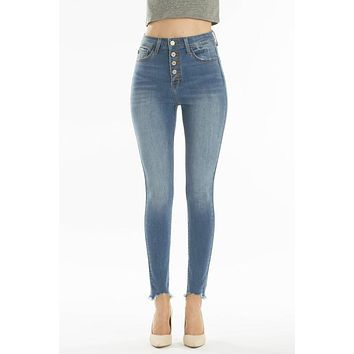 High Rise Super Skinny KanCan