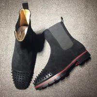 PEAPNW6 Cl Christian Louboutin Boots Style #2098 Sneakers Fashion Shoes