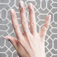 A Sweet Little Midi Set in Gold