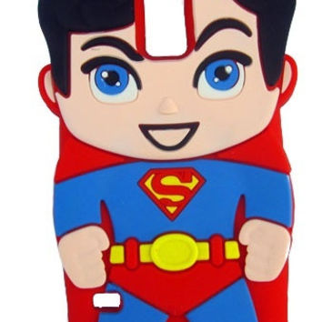 Universal Trading for Samsung Galaxy S5 Cases 3D Superman Silicone Jelly Soft Skin Case Cover for Samsung Galaxy S5 = 1946398084