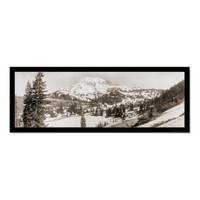 Mt. Rainier WA Snow Photo 1925 Posters from Zazzle.com