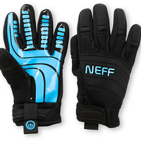Neff Rover Black & Blue 2013 Pipe Snowboard Gloves at Zumiez : PDP