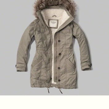 Military Sherpa Lined Parka