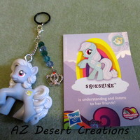 MOD PV Charm Crystals Crown charm and Shoeshine My Little Pony Toy