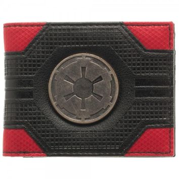 Star Wars Imperial Mix Black Bi-Fold Wallet