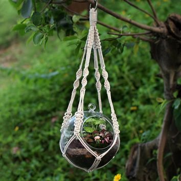 Durable Knotted Plant Hanger Flower Pot Holder