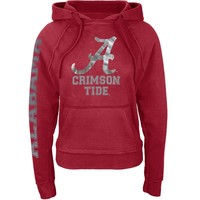 Alabama Crimson Tide - Foil Logo Juniors Pullover Hoodie - Medium