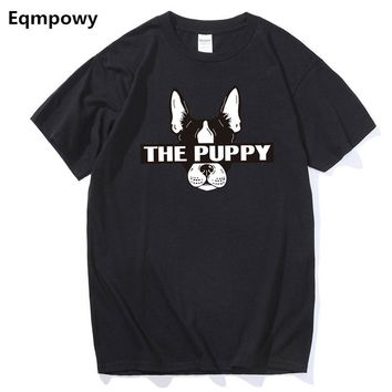 New Arrivals Fashion French Bulldog Printed T-Shirt Men's Dogs Animal T Shirt Summer High Quality Hipster Tee Tops