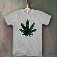 Weed Leaf Unisex T-shirt Funny and Music