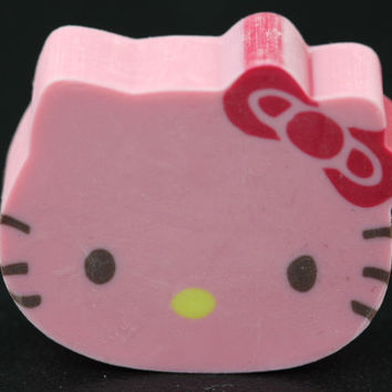Die Cut Caramel Scented Hello Kitty Eraser