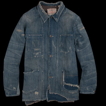 UNIONMADE - Levi's Vintage Clothing - 1915 Blanket Lined Sack Coat in Single Jack