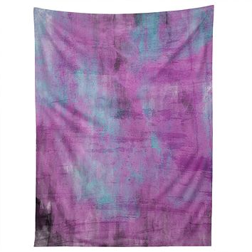 Allyson Johnson Purple Paint Tapestry