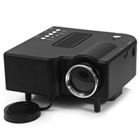 UC-40 HD 400 Lumens Home Mini LED Projector LCD Projector Support AV SD VGA SD Card Electronic Zoom Vehicle Power Supply