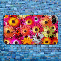 Colorful Flower Sunflower Collage iPhone Case Beautiful Artistic Creative iPhone Case iPhone 4 iPhone 5 iPhone 4s iPhone 5s iPhone 5c Case
