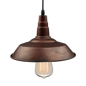 LNC Bronze Pendant Lighting, Indoor Ceiling Lights Hanging Lamp for Kitchen Island, Industrial Lamp