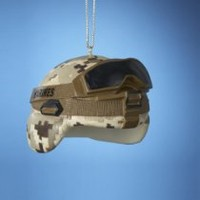 US Marine Corps Officially Licensed Combat Helmet Christmas Tree Gift Ornament