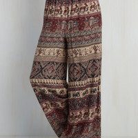 Boho Wide Leg May I Grab Your Attention? Pants
