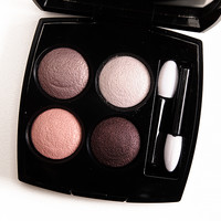 Chanel Tisse Camelia (202) Les 4 Ombres Eyeshadow Quad Review, Photos, Swatches