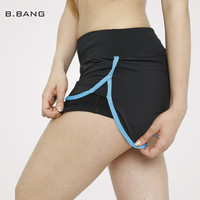 B.BANG Women Sport Running Shorts Elastic Waist Woman Quick Dry Fitness Shorts Female Yoga Short Pants M/L/XL