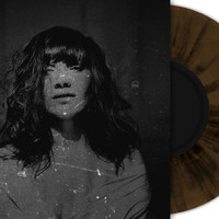 "Anchors Aweigh Records — CAPSIZE ""Live A Burden, Die A Curse"" 7 inch brown black splatter"