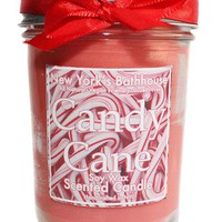 Candy Cane Mason Jar Soy Wax Candle