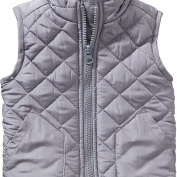 Old Navy Frost Free Quilted Vest For Baby