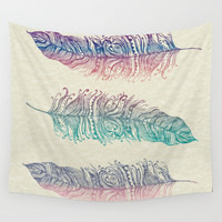 Fly Free Wall Tapestry by Rskinner1122