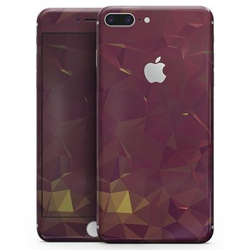 Red Geometric V13 - Skin-kit for the iPhone 8 or 8 Plus