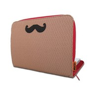 The Handlebar Laptop Sleeve Custom Size by brokesy on Etsy