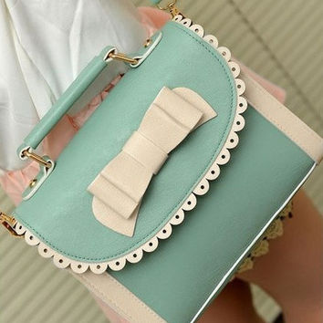 Women Handbags Shoulder Bag Leather Shoppers Satchel Totes Messenger Bags Green (With Thanksgiving&Christmas Gift Box)= 1705721156