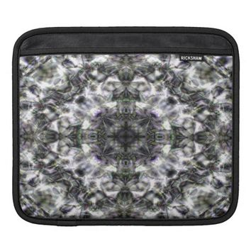Silver Lace Sleeve For iPads