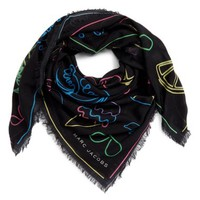 Marc by Marc Jacobs Neon Lights Wool Shawl | Nordstrom