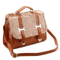British Style Classic Vintage Fashion Briefcase Tote Shoulder Crossbody Bag