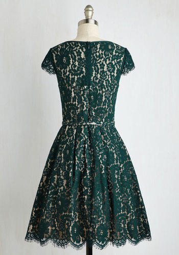 900e77028a5 Mid-length Left in a Spin Dress in from ModCloth