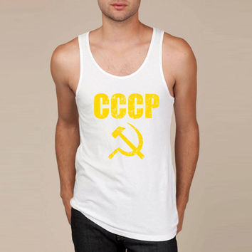 CCCP Hammer and Sickle Tank Top