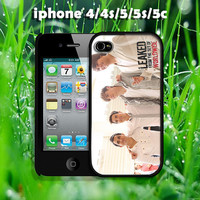 big time rush design hard case for iphone 4/4s, iphone 5, iphone 5s, iphone 5c