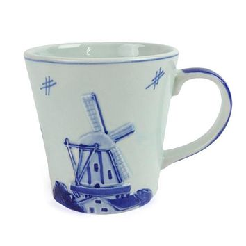 Deluxe Embossed Windmill Coffee Mug