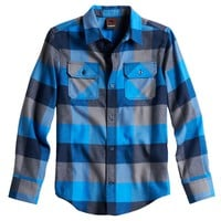 Tony Hawk Buffalo Plaid Flannel Shirt - Boys