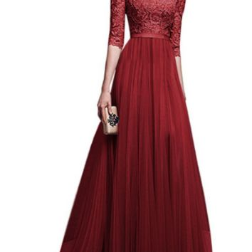 Chiffon Evening Dress Skirt