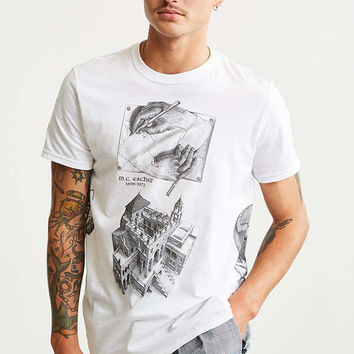 M.C. Escher Collage Tee | Urban Outfitters